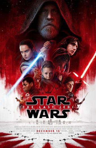 Star Wars: The Last Jedi* Dec. 14th! Tickets on sale now!!