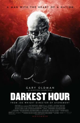 Darkest Hour* Opens Friday