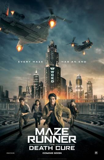 Maze Runner The Death Cure* Opens Thursday