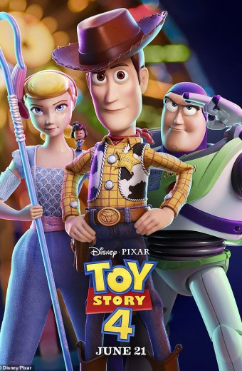 Toy Story 4 in 3D* opens Thursday June 20th