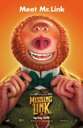 Missing Link* - Opens Friday!